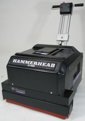 Hammerhead Series Uv Ultra Violet Floor Curing Machine